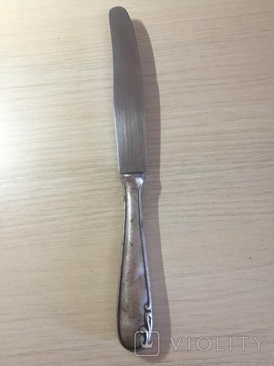 Нож серебро, фото №2