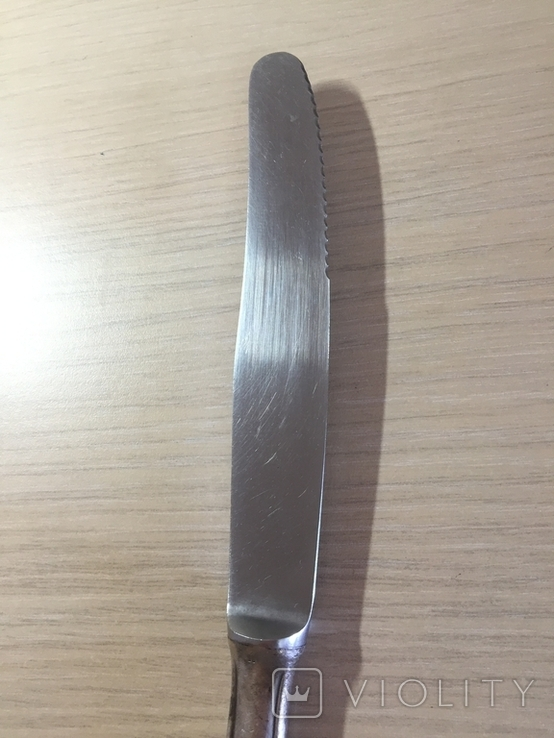 Нож серебро, фото №5