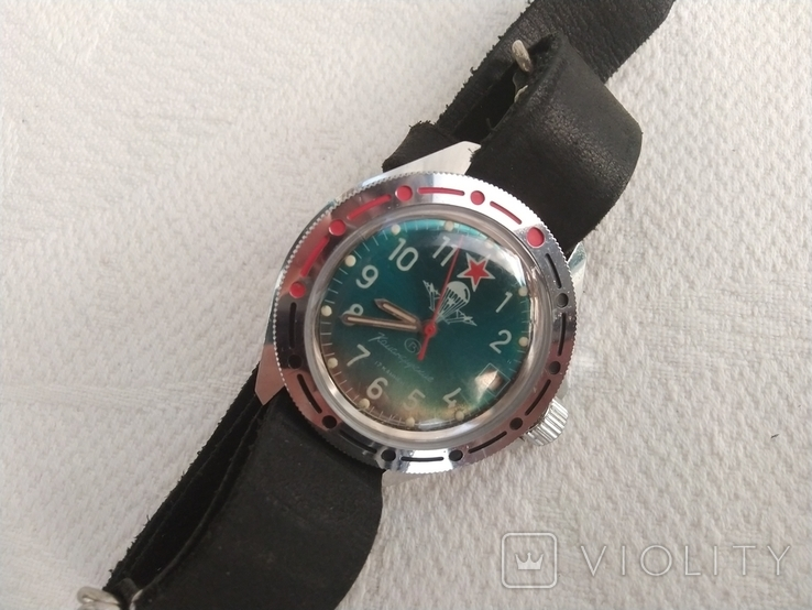 Часы Восток Командирские ВДВ, фото №7