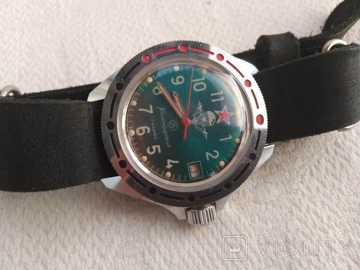 Часы Восток Командирские ВДВ, фото №8