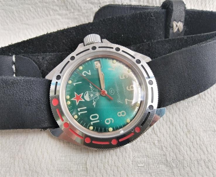 Часы Восток Командирские ВДВ, фото №11