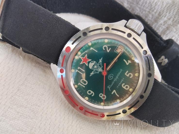 Часы Восток Командирские ВДВ, фото №12