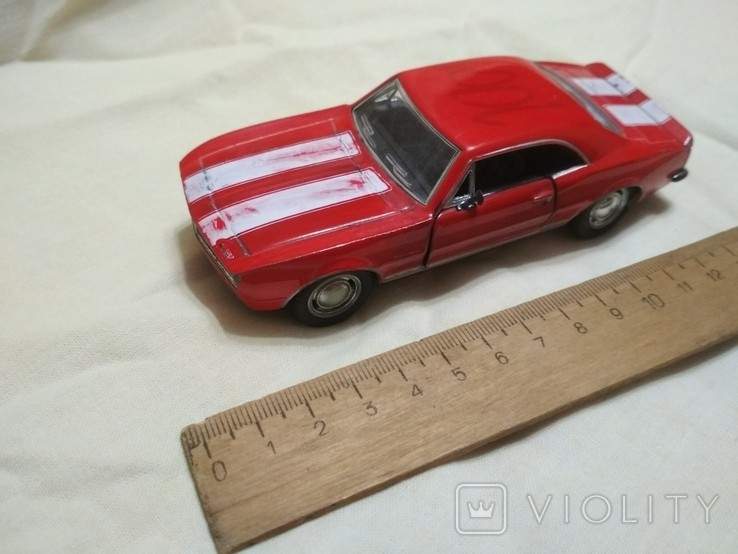 Модель Chevrolet Camaro 1967, фото №3