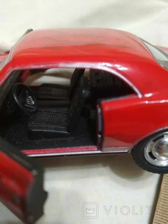 Модель Chevrolet Camaro 1967, фото №6