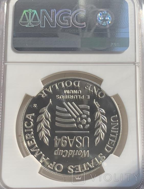 Один долар PF-69, фото №3