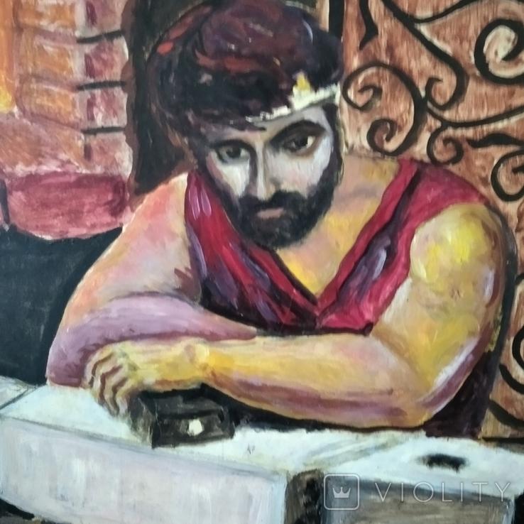 Картина Кузнец в раздумьях, фото №3