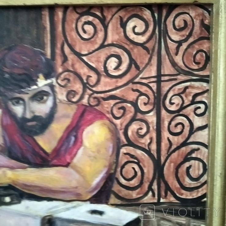 Картина Кузнец в раздумьях, фото №6