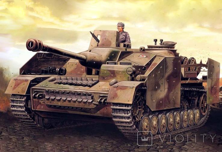 Немецкое штурмовое орудие Штурмгешютц 4.