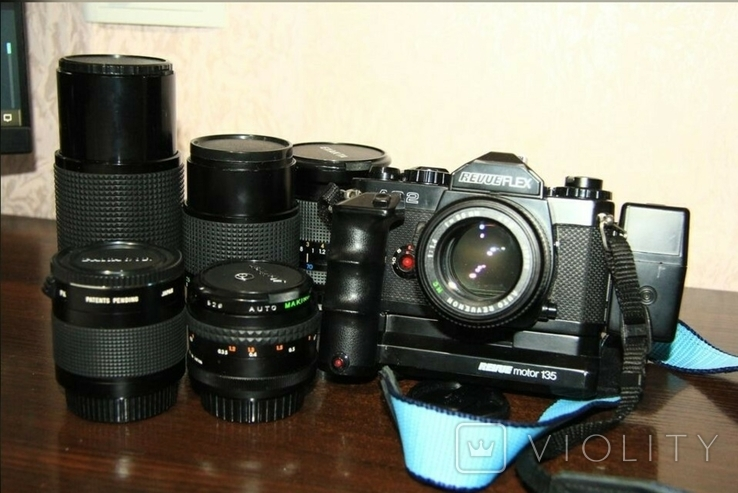 Фотоаппарат REVUEFLEX AC 2(+аксессуары)., фото №2