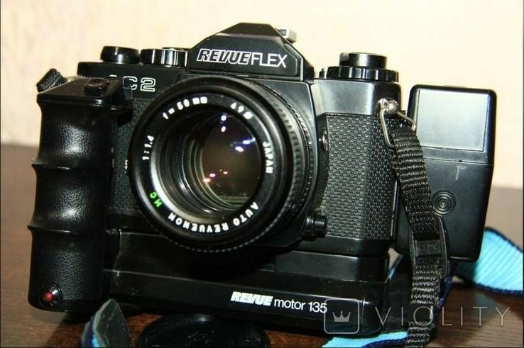 Фотоаппарат REVUEFLEX AC 2(+аксессуары)., фото №3