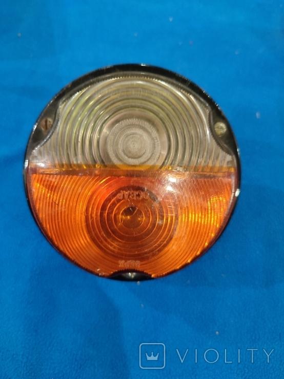 Фонарь передний (подфарник) герметичный, металл. корпус ПФ-133 ГАЗ-53, 66 СССР, фото №2