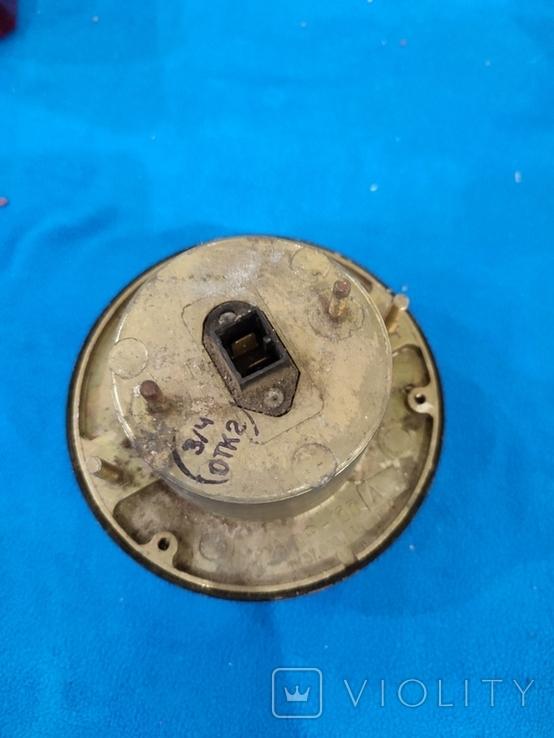 Фонарь передний (подфарник) герметичный, металл. корпус ПФ-133 ГАЗ-53, 66 СССР, фото №4