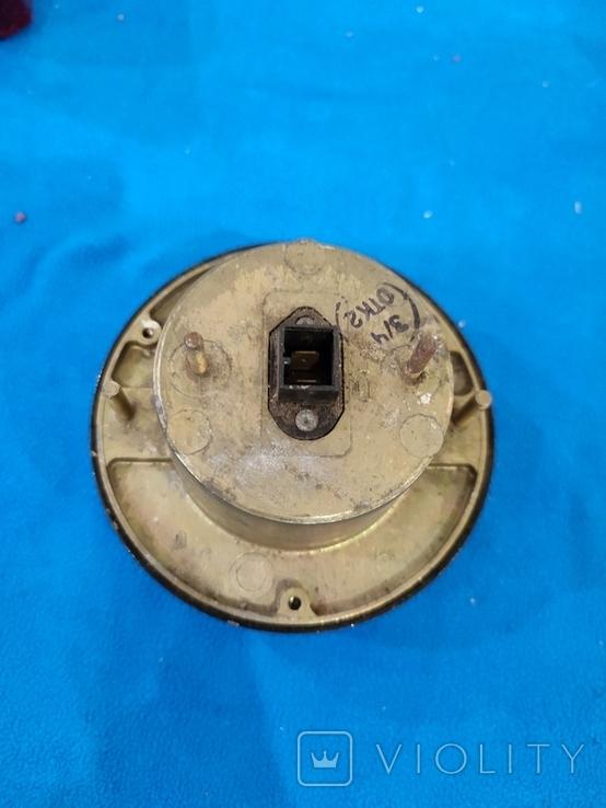 Фонарь передний (подфарник) герметичный, металл. корпус ПФ-133 ГАЗ-53, 66 СССР, фото №5