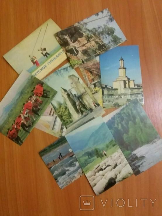 Набор открыток Советское Прикарпатье 1971г, фото №2