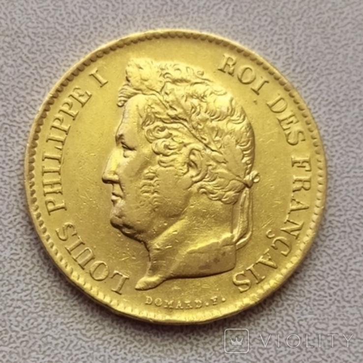 40 франков 1833 г.Франция., фото №2