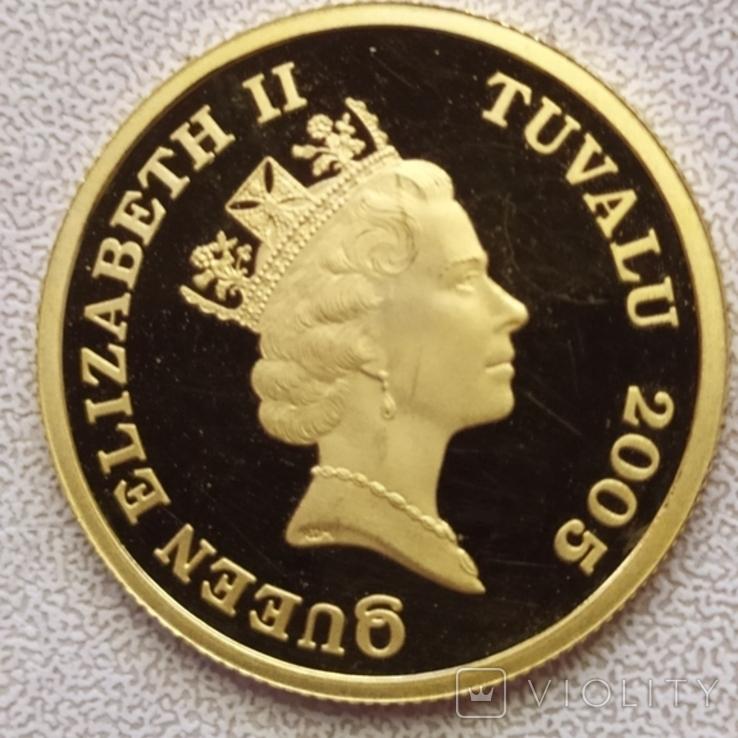 30 долларов 2005г.Тувалу., фото №6