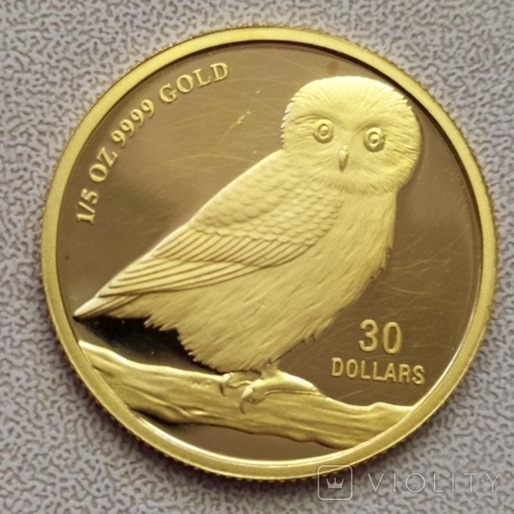 30 долларов 2005г.Тувалу., фото №9
