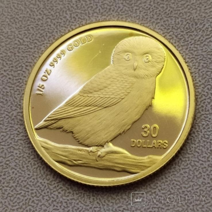 30 долларов 2005г.Тувалу., фото №10