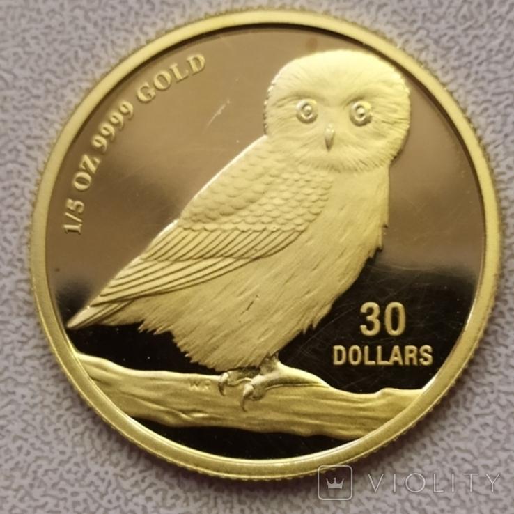 30 долларов 2005г.Тувалу., фото №11