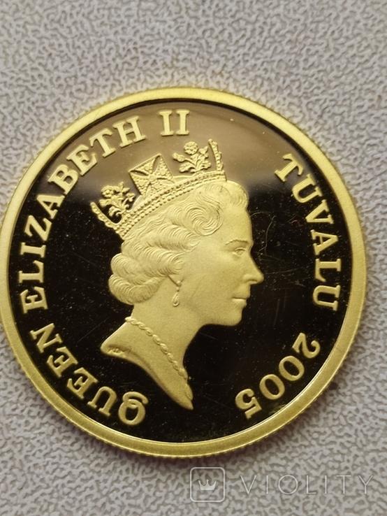 30 долларов 2005г.Тувалу., фото №12
