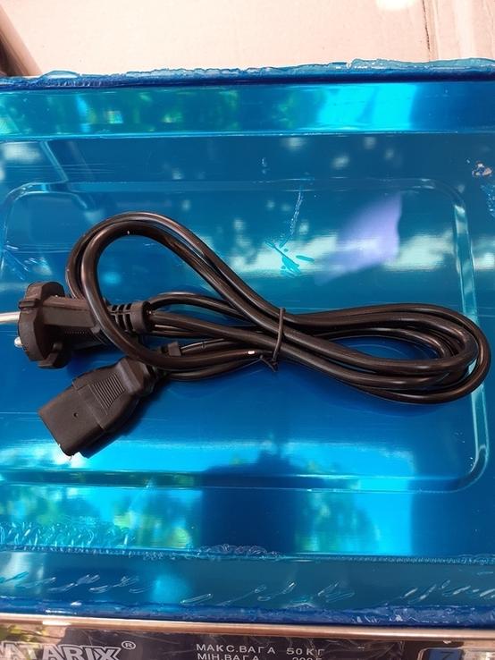 Рыночные электронные торговые весы до 50 кг Matarix, фото №12
