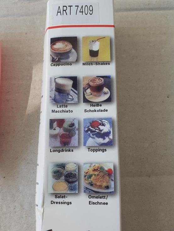 Миксер - капучинатор для вспенивания сливок FUKE Mini Creamer, фото №3