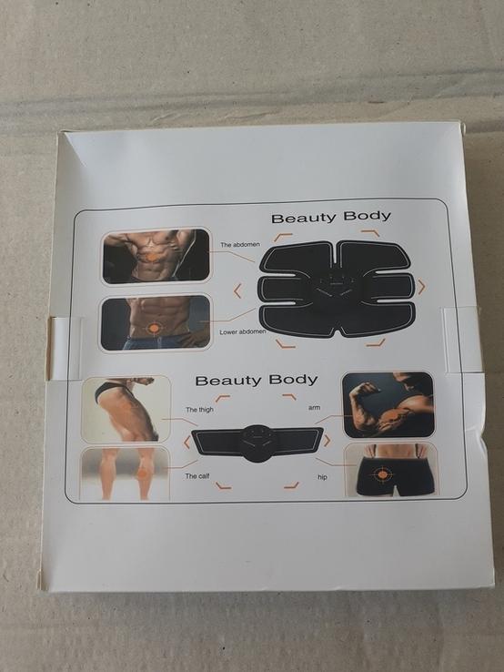 Миостимулятор-тренажер для мышц пресса и рук EMS Trainer, фото №3