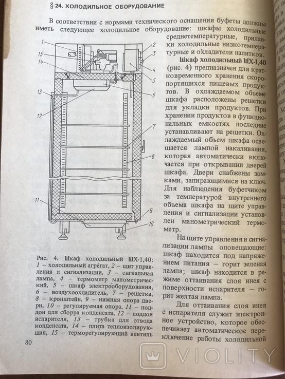 1988 Общественное питание СССР Организация работы буфета, фото №9