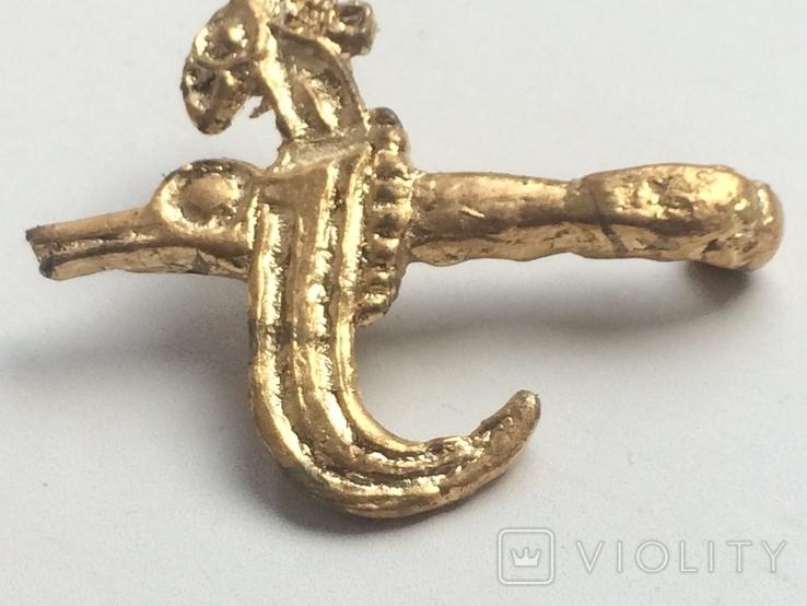 Скифский колчанный крюк Грифон., фото №3