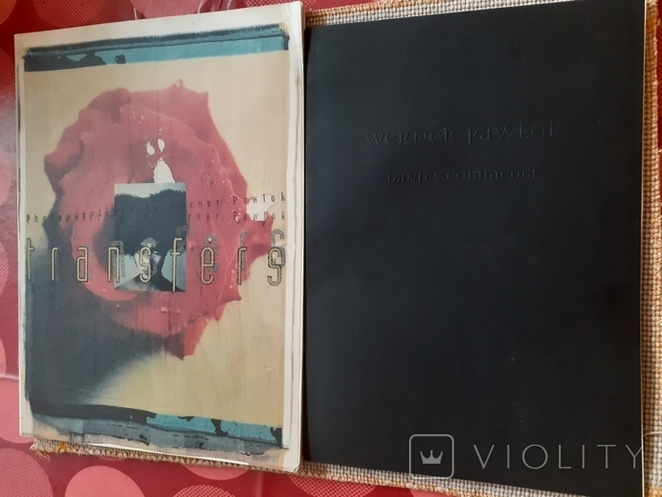 Два фотоальбома немецкого фотографа Вернера Павлока Werner Pawlok, фото №2