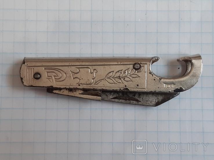 Нож складной, цена, клеймо, фото №3