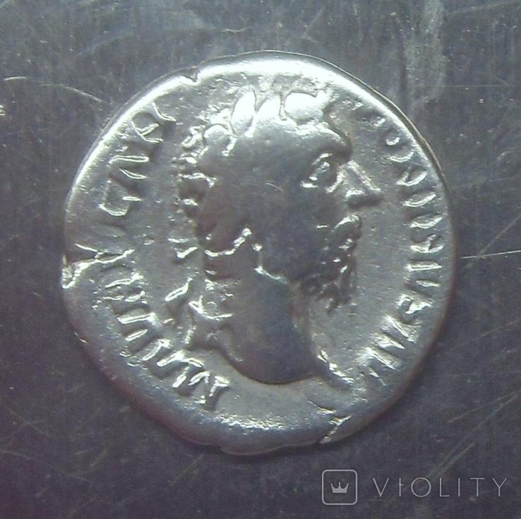 Варварское подражание денарию М. Аврелия (2), фото №2