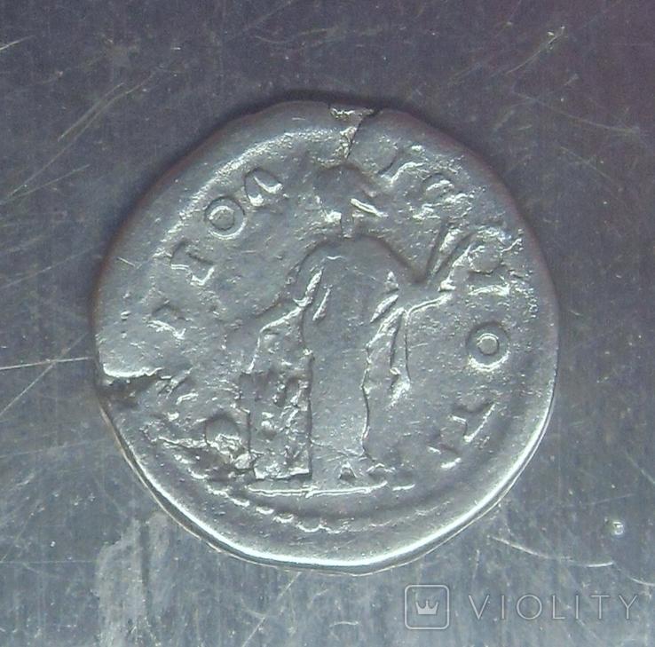 Варварское подражание денарию М. Аврелия (2), фото №3