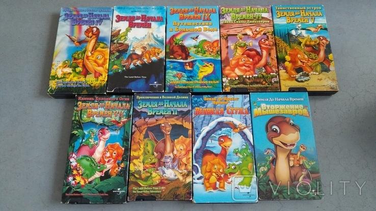 Видеокассеты - 54 шт, DVD - 7 шт. Мультфильмы., фото №4