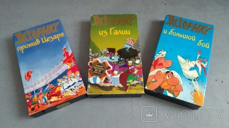 Видеокассеты - 54 шт, DVD - 7 шт. Мультфильмы., фото №8