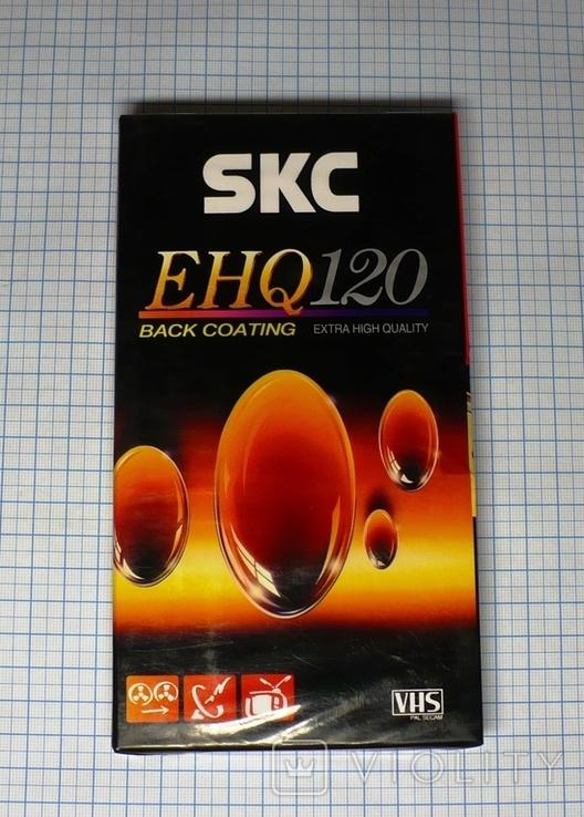 Видеокассета SKC EHQ120, чистая., фото №2