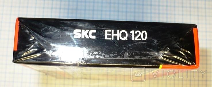 Видеокассета SKC EHQ120, чистая., фото №7