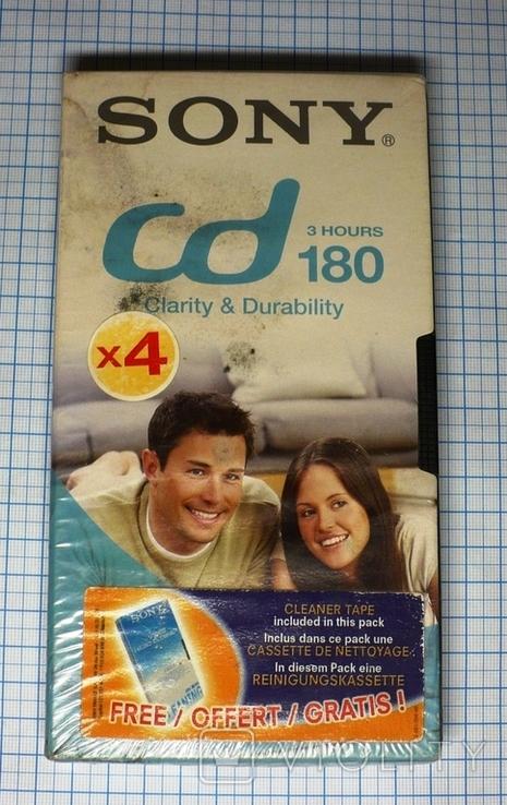 Видеокассета SONY CD180., фото №2