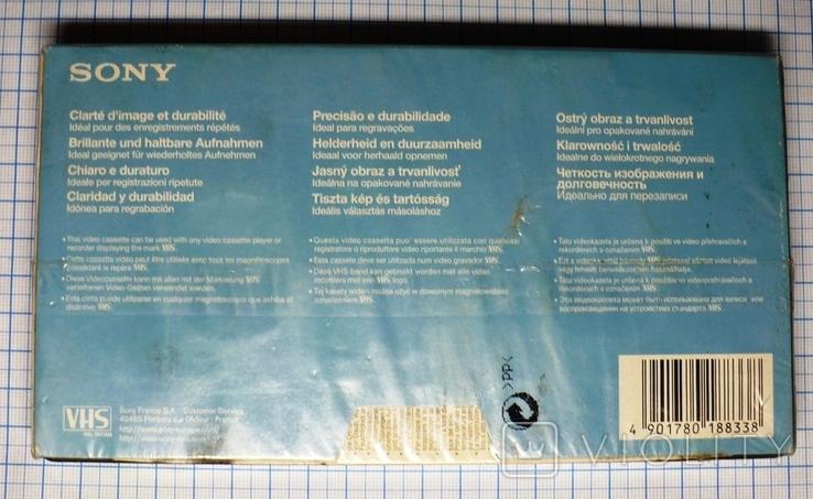 Видеокассета SONY CD180., фото №4