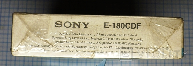 Видеокассета SONY CD180., фото №7