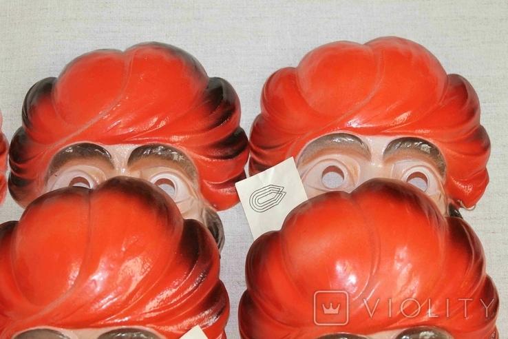 Маски для детских утренников СССР с бирками 8 шт, фото №9