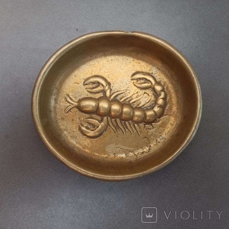 Пепельница Скорпион. К326, фото №4