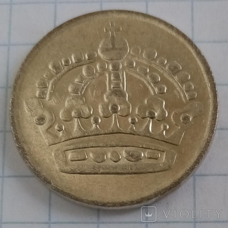 50 эре 1956г Швеция серебро, фото №3