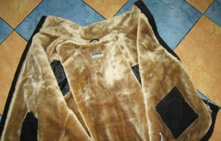 Тёплая мужская куртка BASIC LINE на меху. Лот 342, фото №4