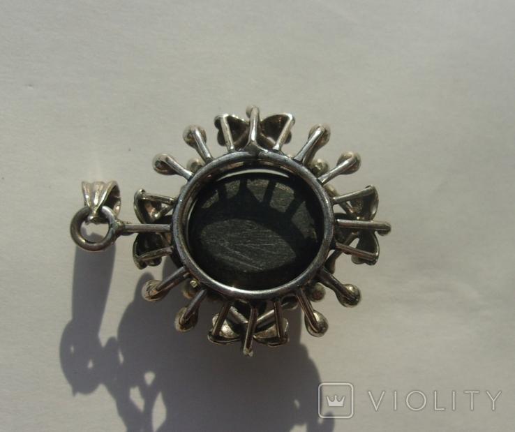 Кулон серебро астеризм., фото №9