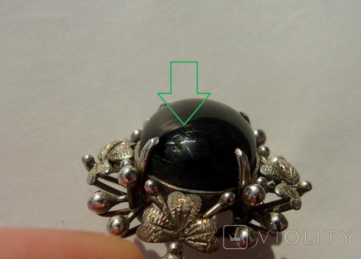 Кулон серебро астеризм., фото №11