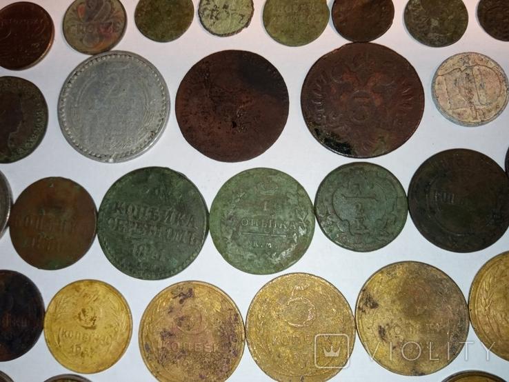 Монети різні 153 штуки, фото №4