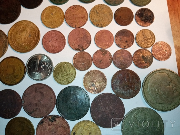 Монети різні 153 штуки, фото №12