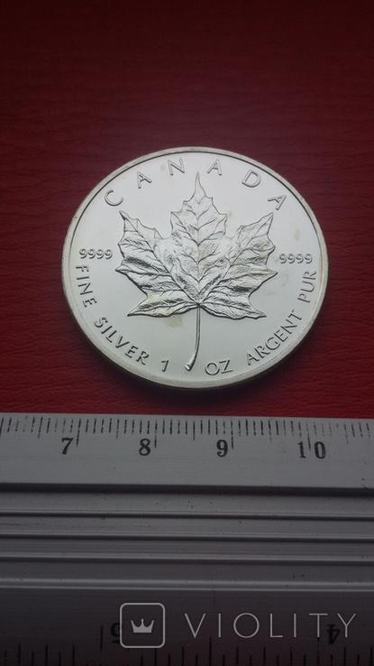 5 Канада 2007 г Кленовый лист, фото №12