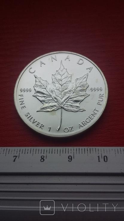 5 Канада 2007 г Кленовый лист, фото №13
